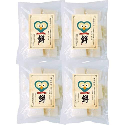 もち 米 山形米杵つき餅「エフティヒアの餅」 500g×4袋