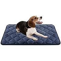 Hero Dog ペット マット 犬 ペット ベッド クッション 犬 ケージ用敷物 防寒 滑り止め 洗える 肌触りのよいフランネル使用 柔らかい 眠りクッション 寝心地がよい 4カラー6サイズ選択可(グレー M)