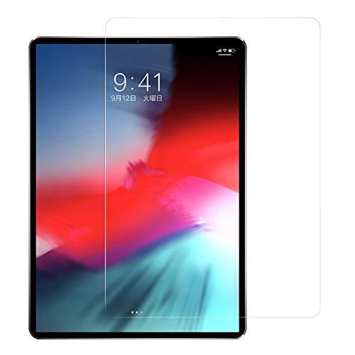Nimaso iPad Pro 11 インチ 用 フィルム 強化ガラス 液晶保護フィルム 硬度9H/高透過率/防爆裂 (2018秋新型, 11インチ IPAD PRO 用 ガラスフィルム)