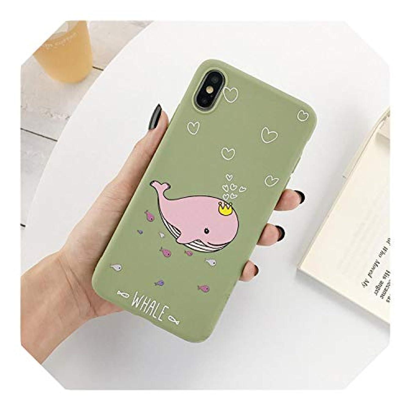 戦闘縁石ジャーナリストCartoon Funny Dinosaur Phone Case For iPhone 11 6 7 8 Plus X XR XS Max Cute Case For iPhone 6 Plus Soft Silicon Back Case-7998MG3-For iPhone 11