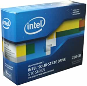 Intel SSD Elmcrest 250GB SATA 2.5Iinch w/Cable Retail K SSDSC2MH250A2K5