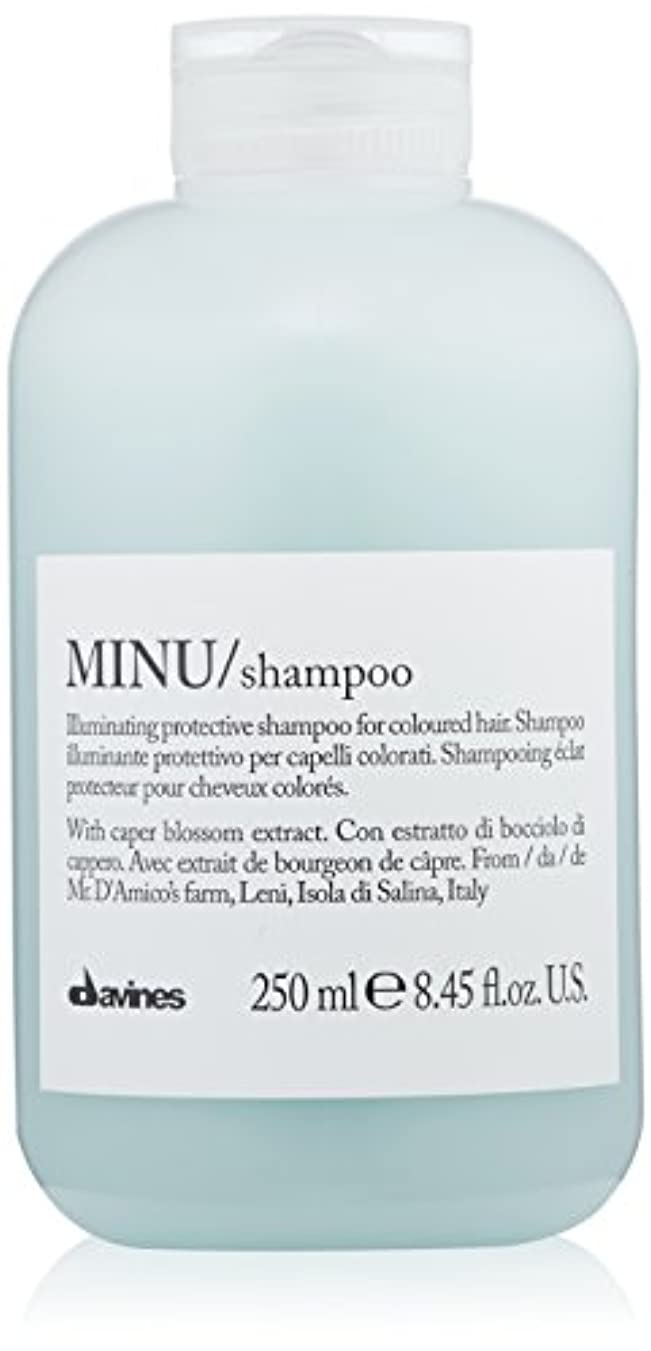 免疫カラス遅滞ダヴィネス Minu Shampoo Illuminating Protective Shampoo (For Coloured Hair) 250ml/8.45oz並行輸入品