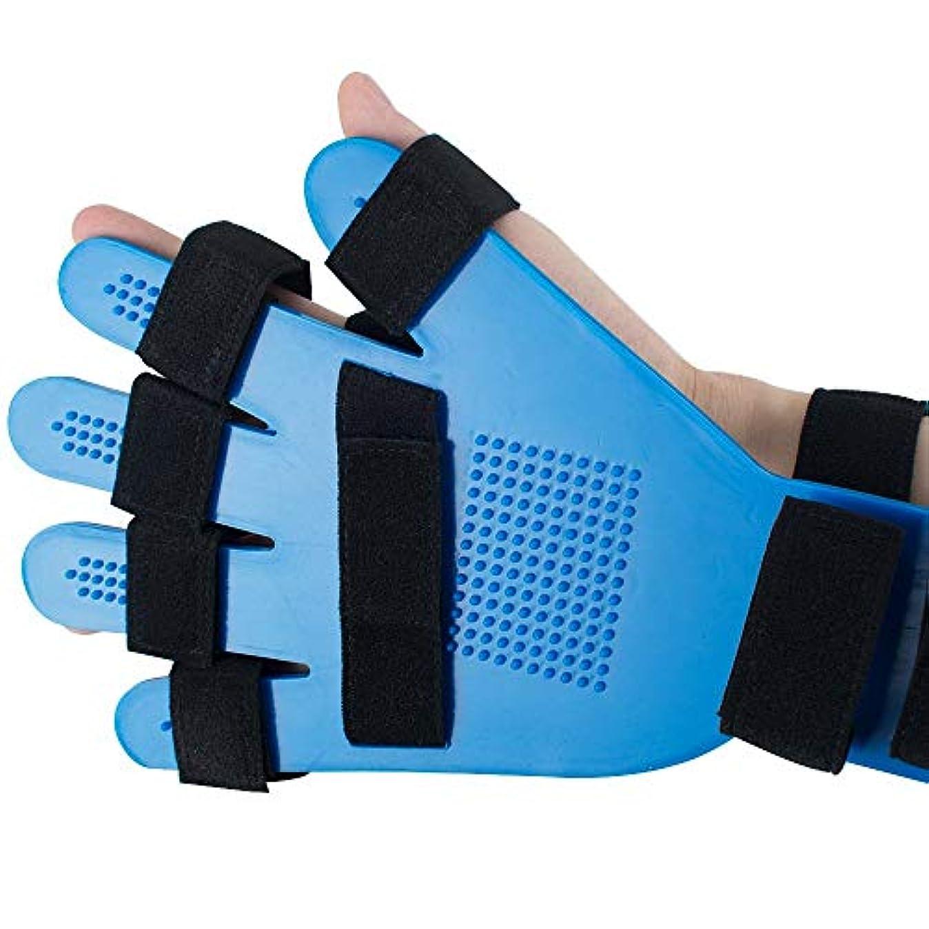 ポテト旋回ミント指の添え木、指板指の分離器矯正具、ポイント手首手首訓練装具装具サポート右左男性女性