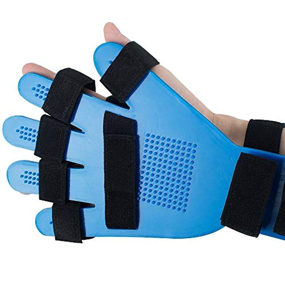 拍手運河スクラッチ指の添え木、指板指の分離器矯正具、ポイント手首手首訓練装具装具サポート右左男性女性