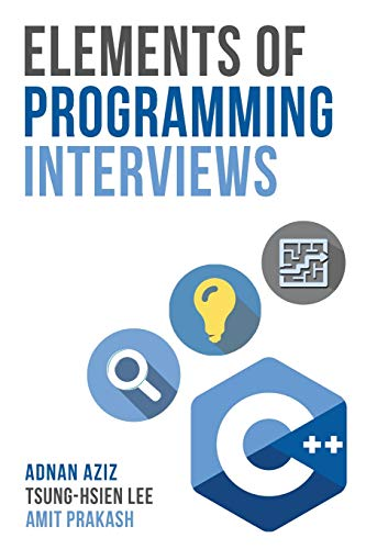 Download Elements of Programming Interviews: The Insiders' Guide 1479274836