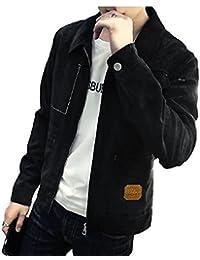 [Nana_Collection(ナナコレクション)] 春 あったか ポケット 長袖 前開き ジッパー ジャケット コート 男性