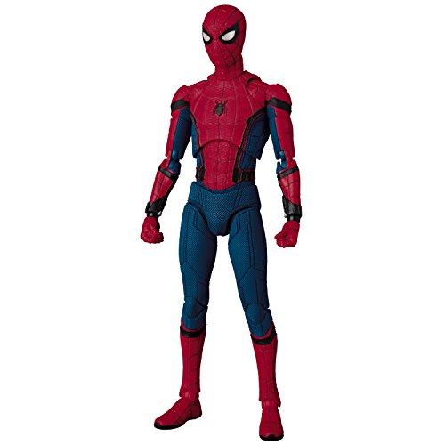 MAFEX マフェックス SPIDER-MAN (HOMECOMING Ver.) ノンスケール ABS&ATBC-PVC製 塗装済みアクションフィギュア