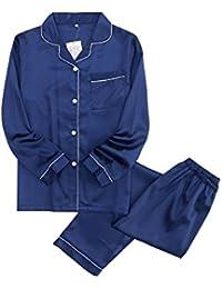 レディース&メンズ パジャマ ルームウェア 柔らかい 綿100% 純色 女性&男性 寝間着 旅館 介護 入院 部屋 温泉適用 上下セット