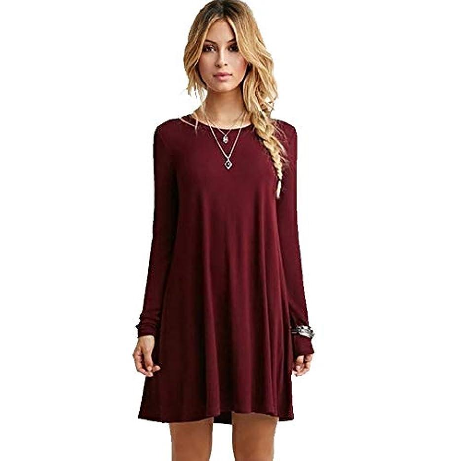 はげ大混乱説教MIFANルースドレス、プラスサイズのドレス、長袖のドレス、女性のドレス、秋のドレス、マキシドレス、コットンドレス