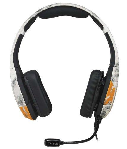 [PC、PS4、スマートフォン、モバイルデバイス、MP3プレイヤー、Xbox 360で使える] Titanfall オリジナルデザイン採用 Mad Catz TRITTON Kunai Stereo Headset マッドキャッツ トライトン クナイ ステレオ ヘッドセット (MCX-KUN-SHS-TF)