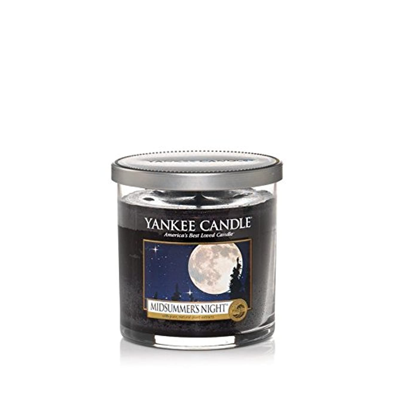 Yankee Candles Small Pillar Candle - Midsummers Night (Pack of 2) - ヤンキーキャンドルの小さな柱キャンドル - Midsummers夜 (x2) [並行輸入品]
