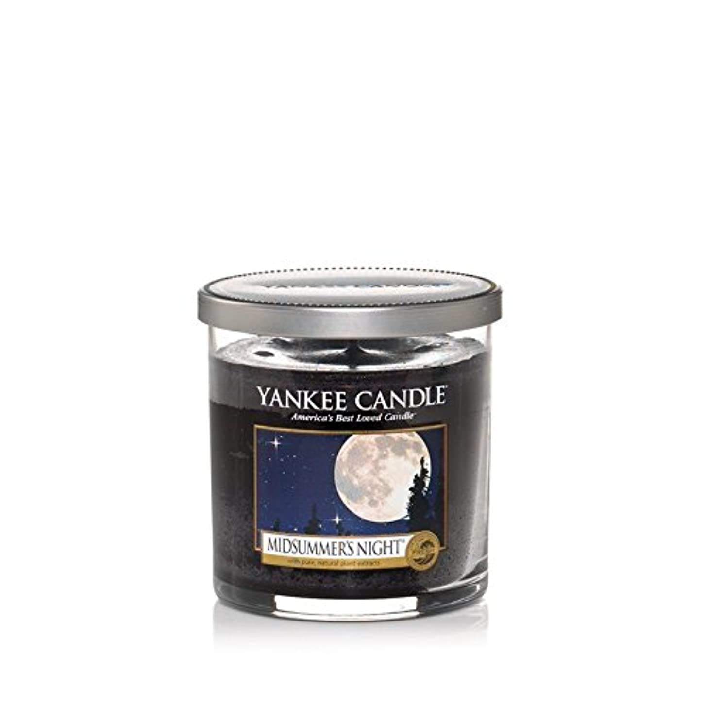 等テーブル振りかけるYankee Candles Small Pillar Candle - Midsummers Night (Pack of 6) - ヤンキーキャンドルの小さな柱キャンドル - Midsummers夜 (x6) [並行輸入品]