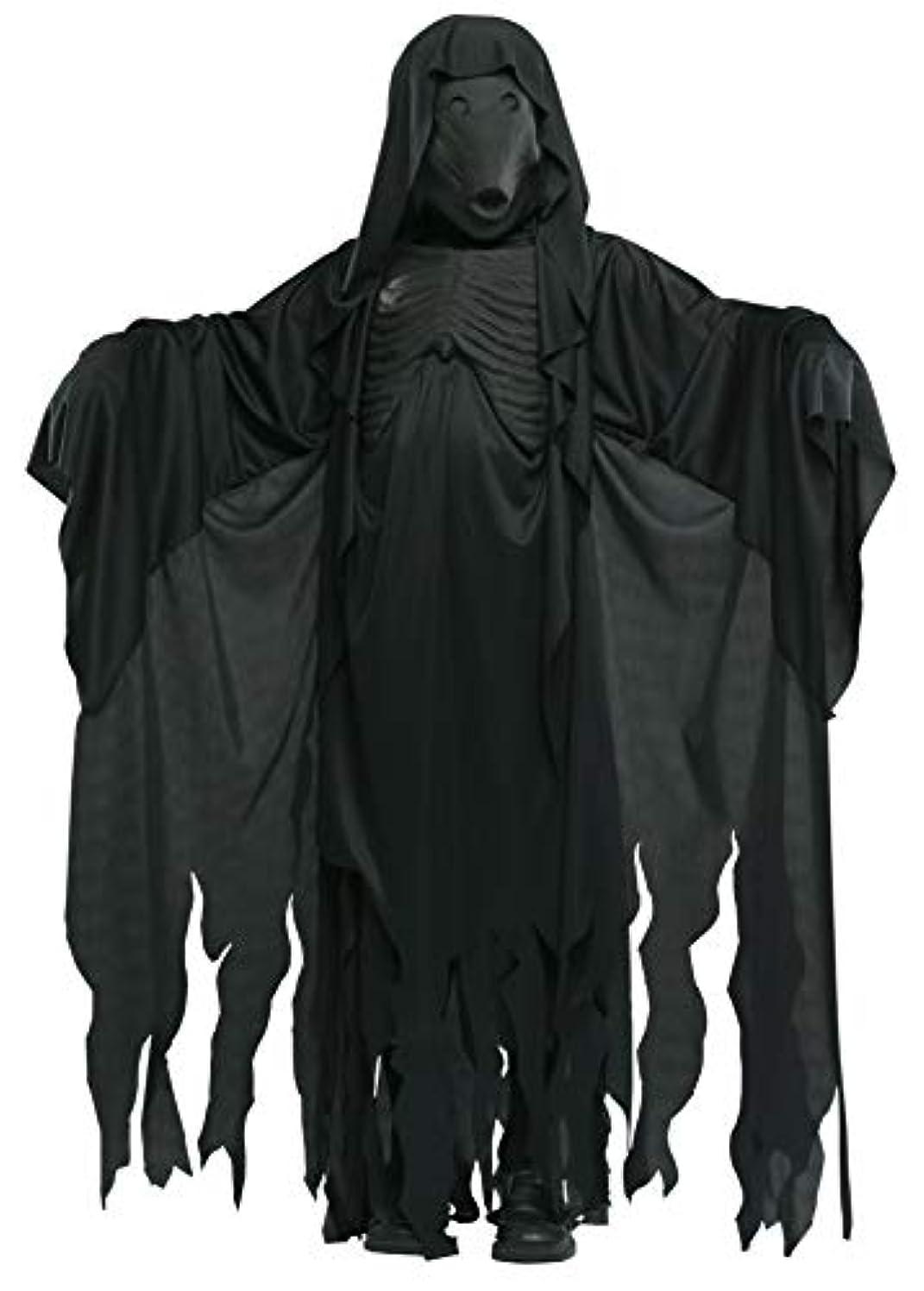 保存東方気まぐれなHarry Potter Dementor Child Costume ハリーポッター 子供服 コスプレ サイズ:Medium