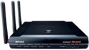 BUFFALO AirStation NFINITI Draft11n対応 11g&b 無線LANブロードバンドルータ WZR2-G300N