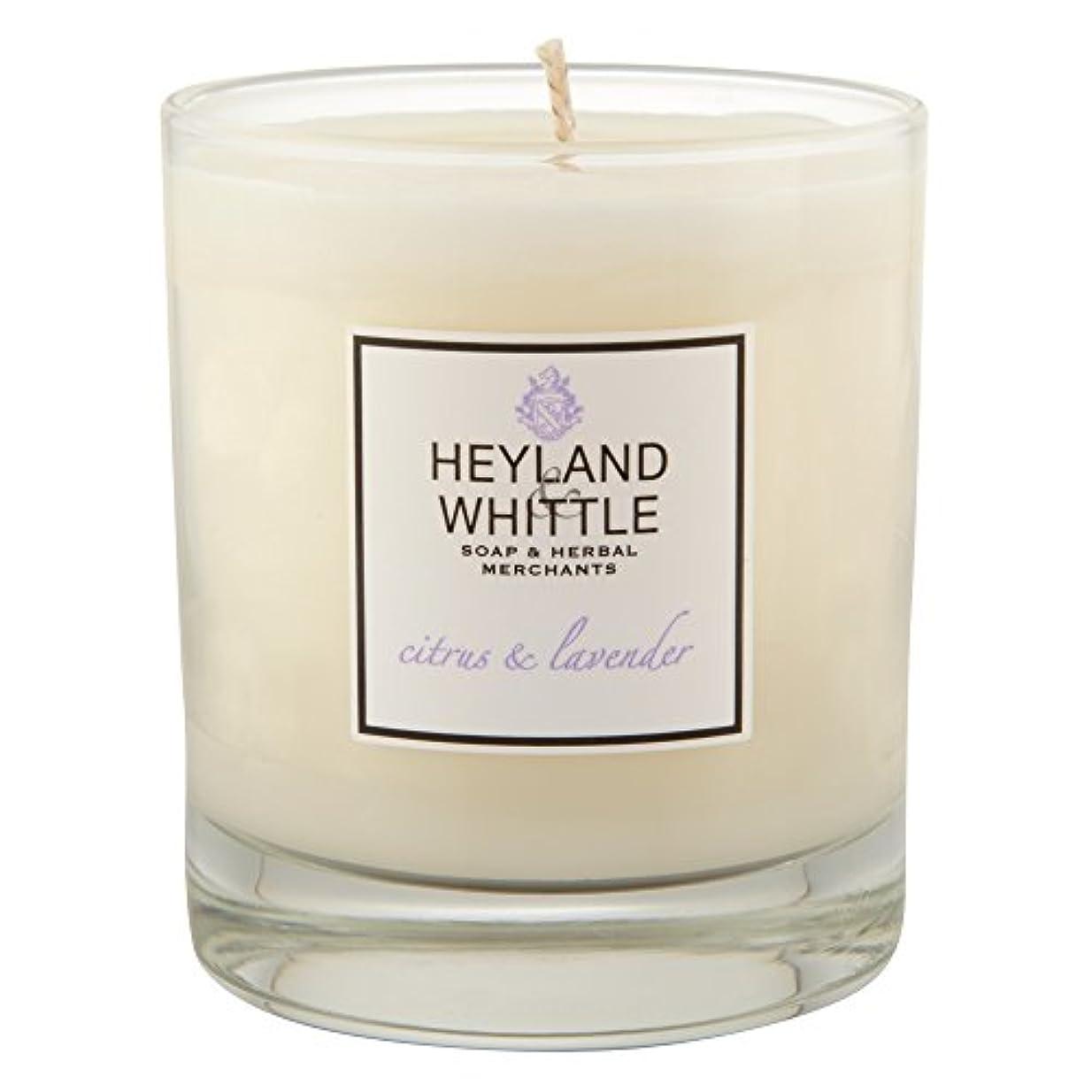 矛盾終わり修復Heyland & Whittle Citrus and Lavender Candle (Pack of 2) - Heyland&削るシトラスとラベンダーキャンドル (Heyland & Whittle) (x2)...