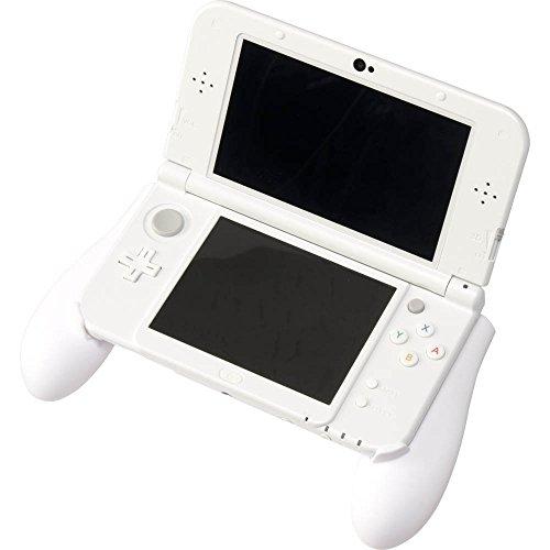 CYBER ・ ラバーコートグリップ ( New 3DS LL 用) ホワイト