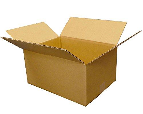 ボックスバンク ダンボール(段ボール箱)90サイズ(39×29×高さ 20 cm)5枚セット 引越し・配送用 FD10-0001