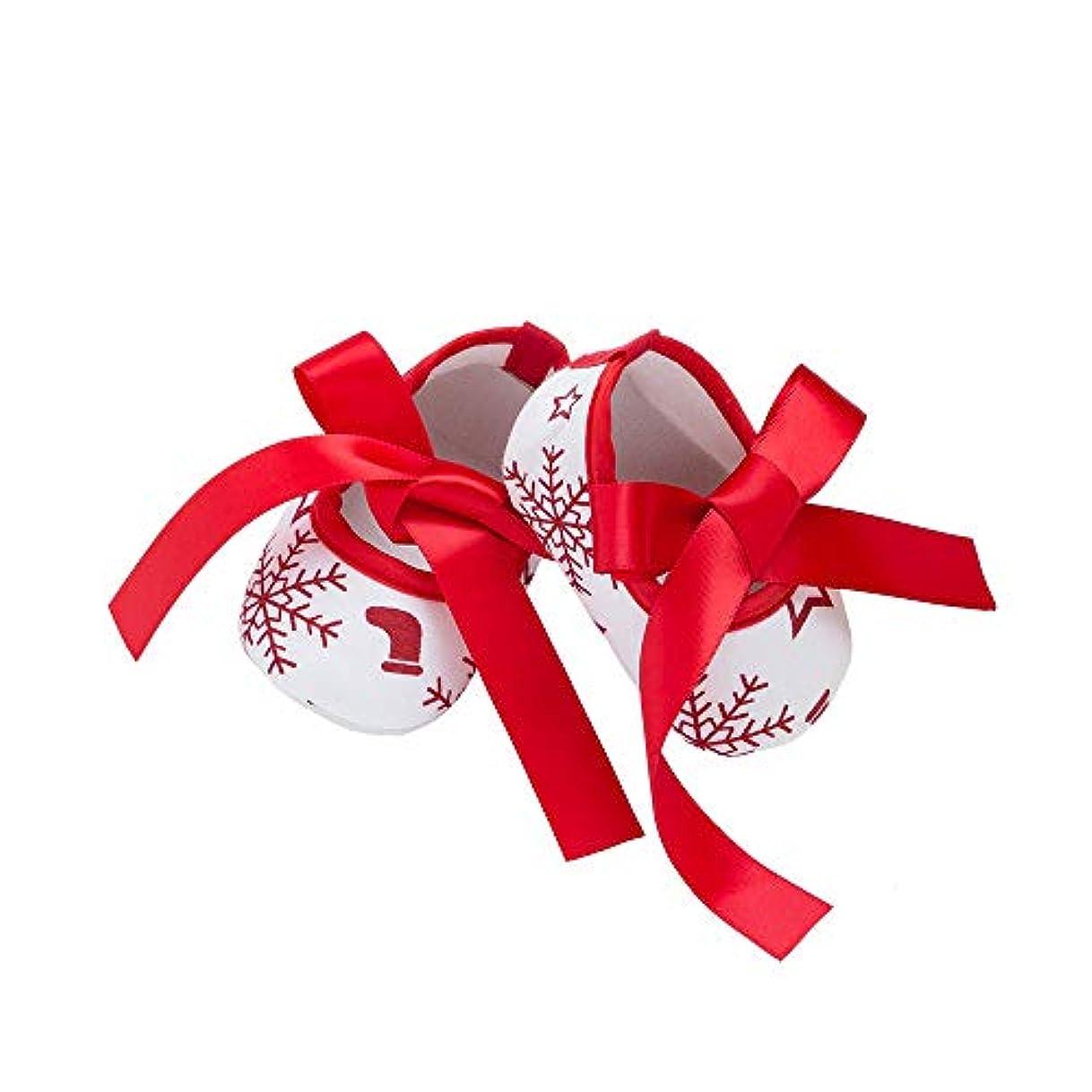 絞る省落胆させる子供靴 Hosam クリスマス レース 蝶結び 新生児靴 幼児 赤ちゃん靴 ウォームブーツ シューズ ファーストシューズ 男の子 女の子 ベビーシューズ 運動靴 赤ちゃん き心地いい 記念日 誕生日 プレゼント 出産お祝い