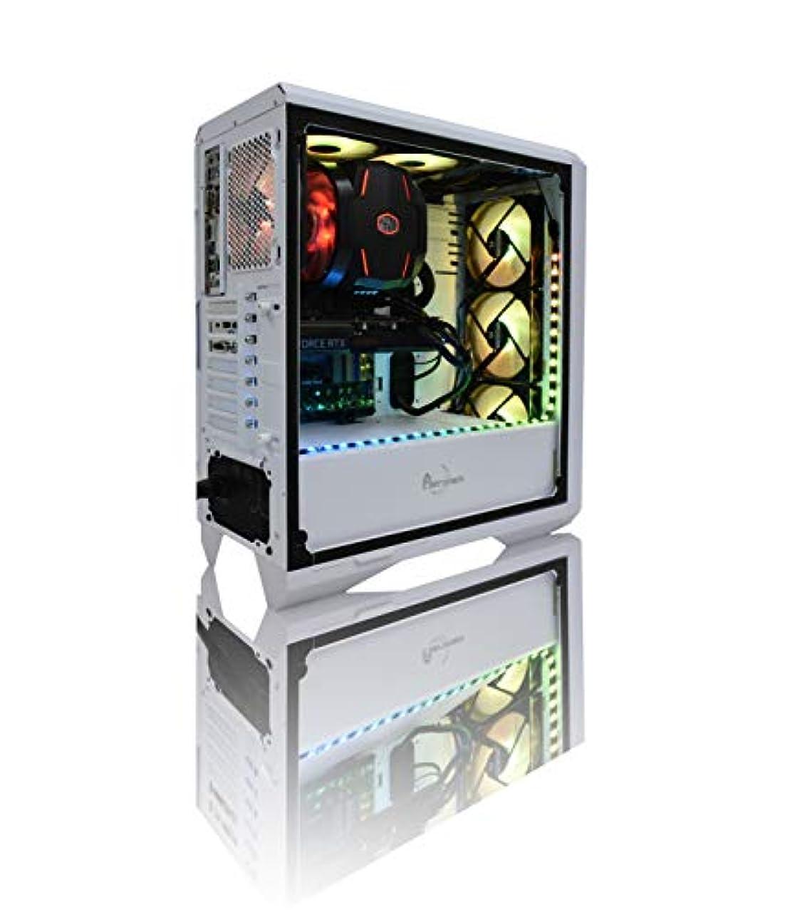 愚かペチュランス許可する【Astromeda】ゲーミングデスクトップパソコン【intel core i7 9700K/RTX2070/RGBメモリ16GB/SSD240G/HDD2TB/Windows10Home 64bit】