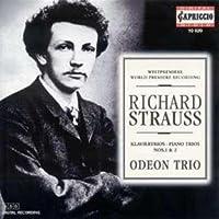 R.シュトラウス:ピアノ三重奏曲第1番&曲第2番
