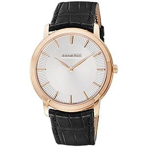 [オーデマ ピゲ]AUDEMARS PIGUET 腕時計 エクストラシン シルバー文字盤 15180OR.OO.A102CR.01 メンズ 【並行輸入品】