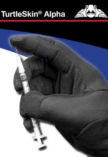 [방도 안전장갑 내도검 안전장갑] 방칼・천명함 대응 장갑 터틀 스킨 알파 M사이즈-ALPHA