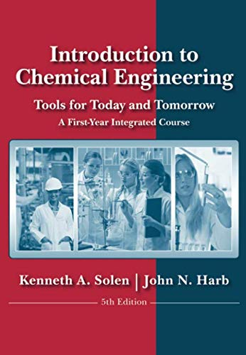 Download Introduction to Chemical Engineering: Tools for Today and Tomorrow, 5th Edition 0470885726