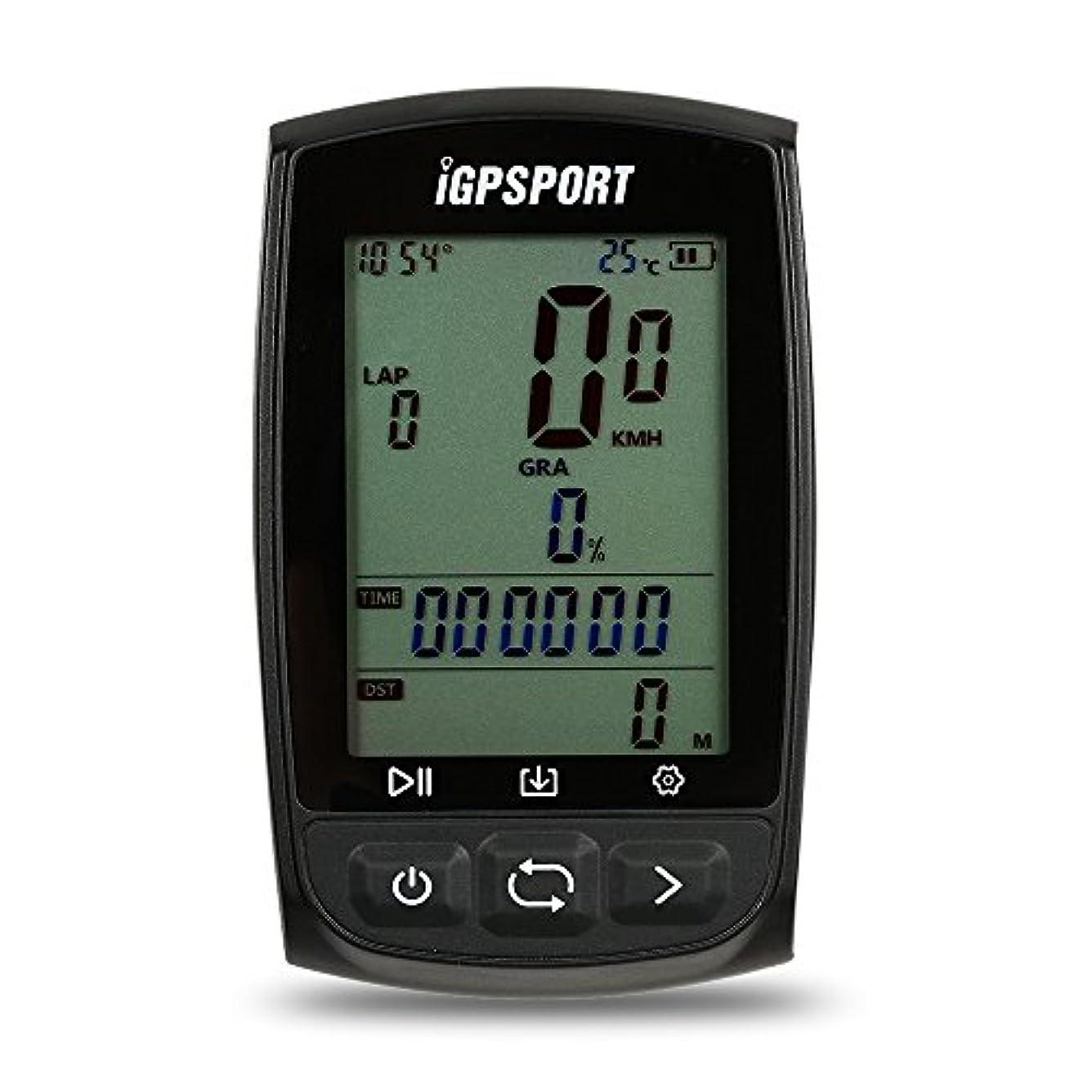 華氏切断する暗唱するDocooler iGPSPORT GPS サイクリングコンピュータ 自転車走行距離計 充電式 IPX7防水 アンチグレアスクリーン 自転車 サイクリング サイクル用 マウント付き