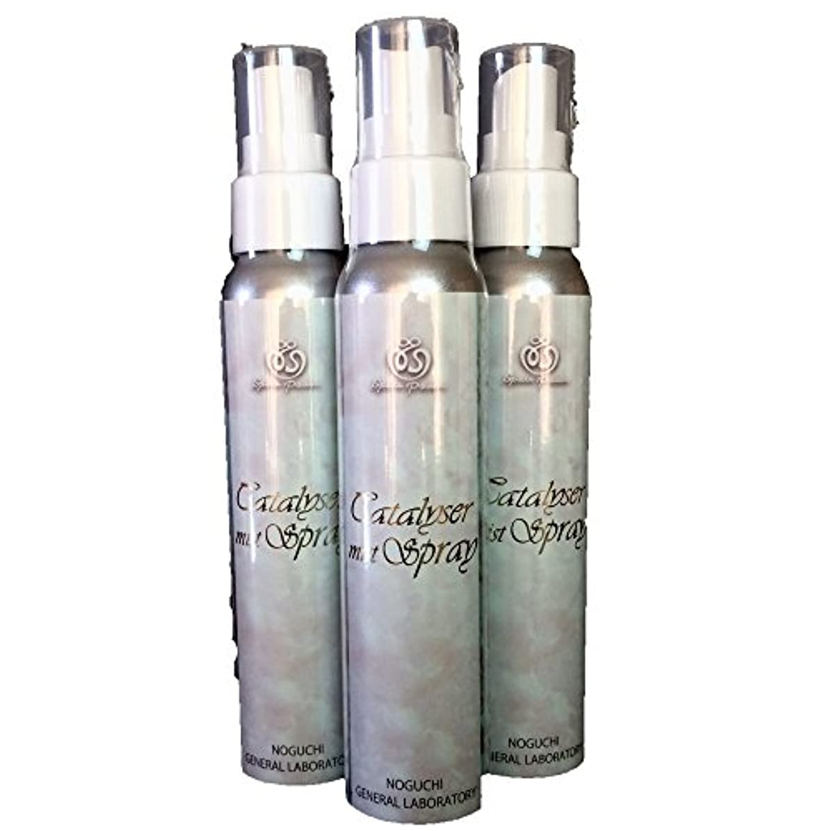 スクレーパー増加するこだわりカタライザーミストスプレー(ミスト化粧水)3本セット
