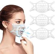 2021年最新版 マスクフレーム ひんやりブラケット 夏用 マスクブラケット シリコン 立体快適3D メイクキープフレーム マスクサポーター メイク崩れ防止 暑さ対策 息苦しさ解消 息苦しくない 口紅の保護