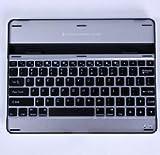 ipad4/iPad3/iPad2 専用  Bluetooth キーボード 薄型 2カラー選択 (シルバー/ブラック)