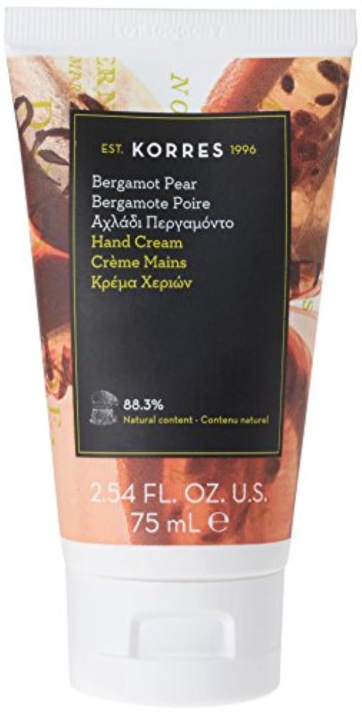 パンダ多用途食品コレスナチュラルプロダクト  ベルガモットペアー ハンド&ネイルクリーム EA 75ml