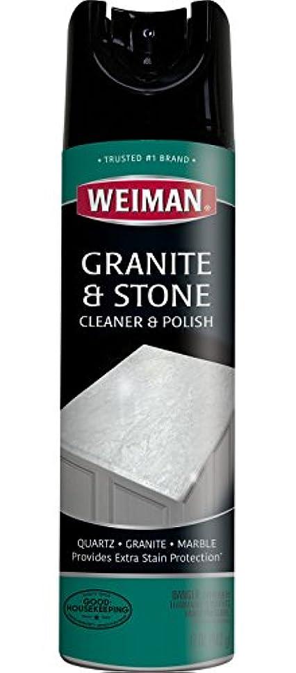 研究コピー避難するWeiman 花崗岩クリーナーとポーランド - 17オンス - 花崗岩マーブルソープストーンクォーツ珪岩スレート石灰岩コリアンラミネートタイルカウンターおよび多くのため