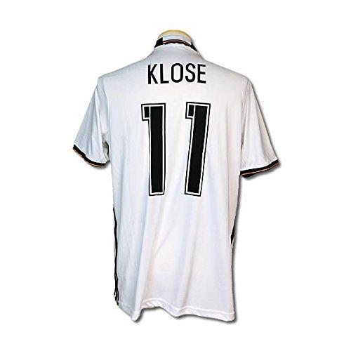 サッカーユニフォーム 2016モデル ドイツ代表 ホーム ミロスラフ・クローゼ KLOSE 背番号11 レプリカサッカーユニフォーム大人用 M