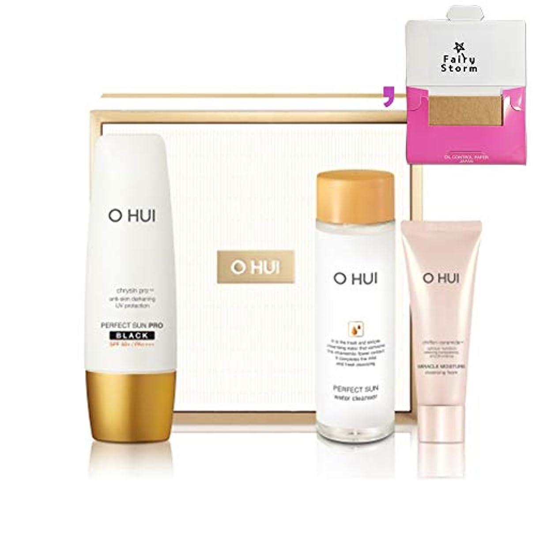 利用可能シプリーそれに応じて[オフィ/O HUI]韓国化粧品 LG生活健康/OHUI PERFECT SUN Pro BLACK Special Set/O HUI パーフェクト サン プロ ブラック 企画 17感謝(SPF50+/PA+++) 50ml...