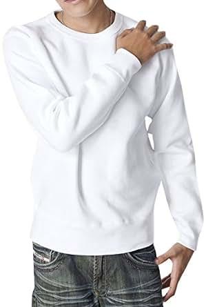 ティーシャツドットエスティー トレーナー 無地 厚手 裏起毛 マックスヘビー 12.4oz メンズ ホワイト 2XL