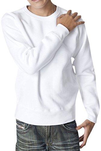 ティーシャツドットエスティー トレーナー 無地 厚手 裏起毛 マックスヘビー 12.4oz メンズ