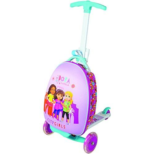 Nickelodeon Kid 's Dora and Friends ' City Girls ' Uprightスクータースーツケース