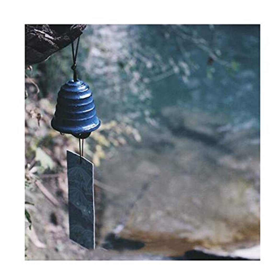 集団的書き込み比喩風チャイム、クリエイティブ?ロックハンドシェイプ南鋳鉄風チャイム、波状のレトロベル、誕生日プレゼント (Color : Ultramarine, Size : 4.5