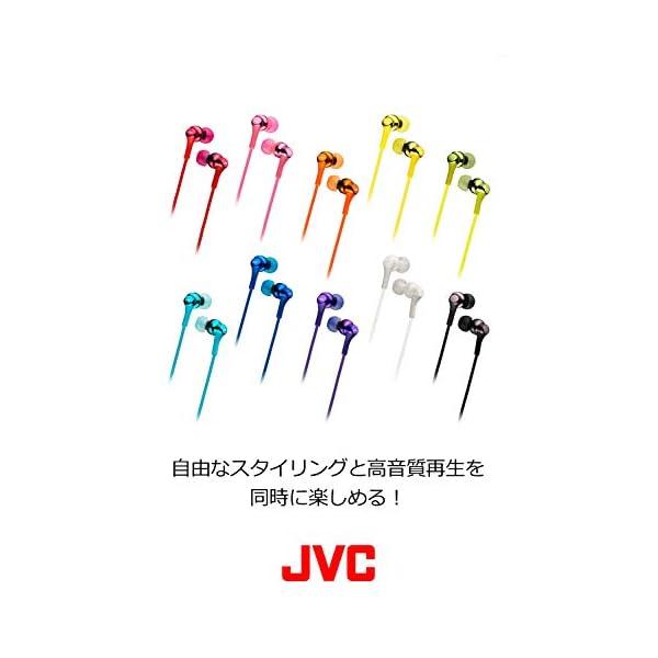 JVC HA-FX26-A カナル型イヤホン ブルーの紹介画像2