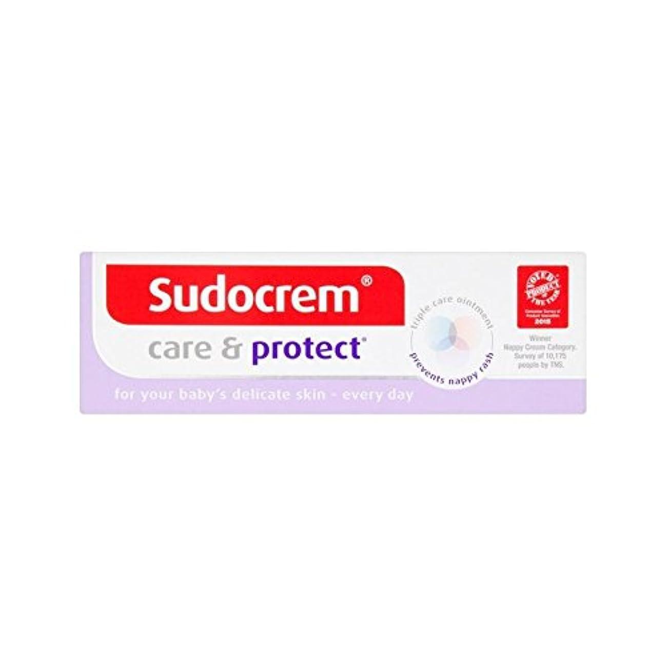 正統派洞窟診療所Sudocrem Care & Protect 30g (Pack of 4) - (Sudocrem) 30グラムケア&保護 (x4) [並行輸入品]