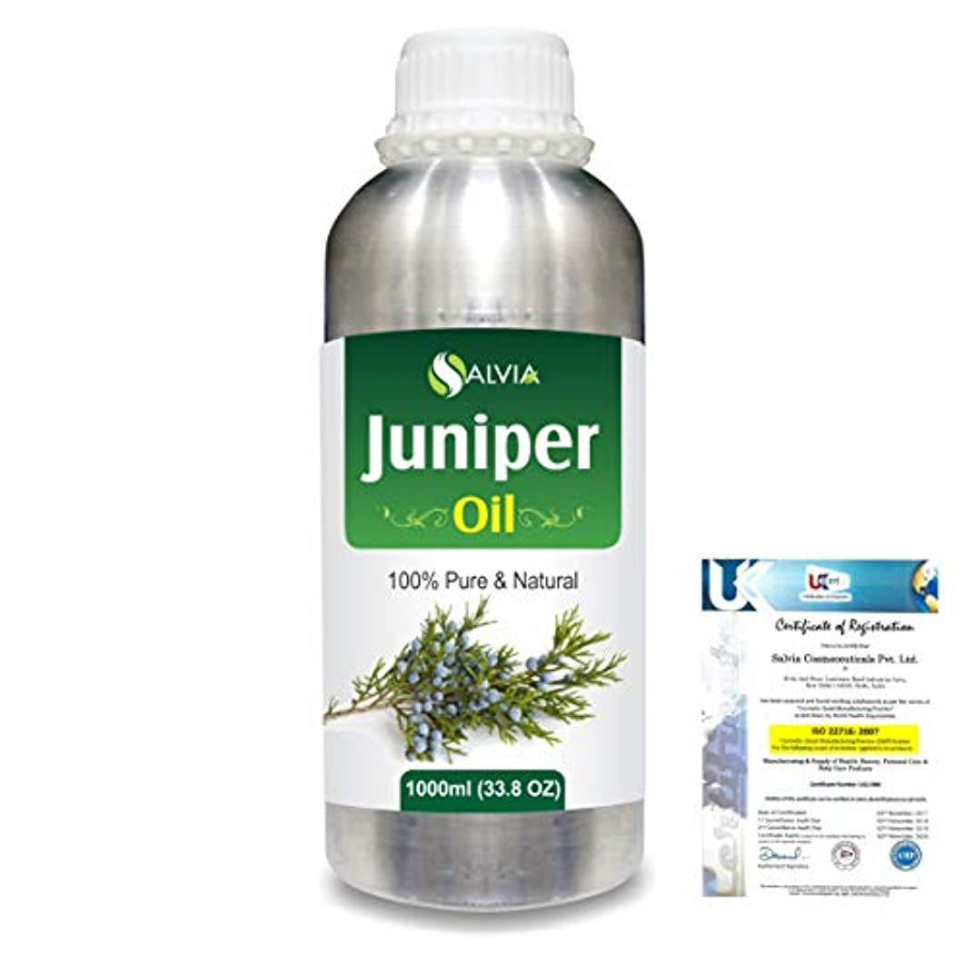 夫婦シソーラス滅びるJuniper (Juniperus communis) 100% Natural Pure Essential Oil 1000ml/33.8fl.oz.