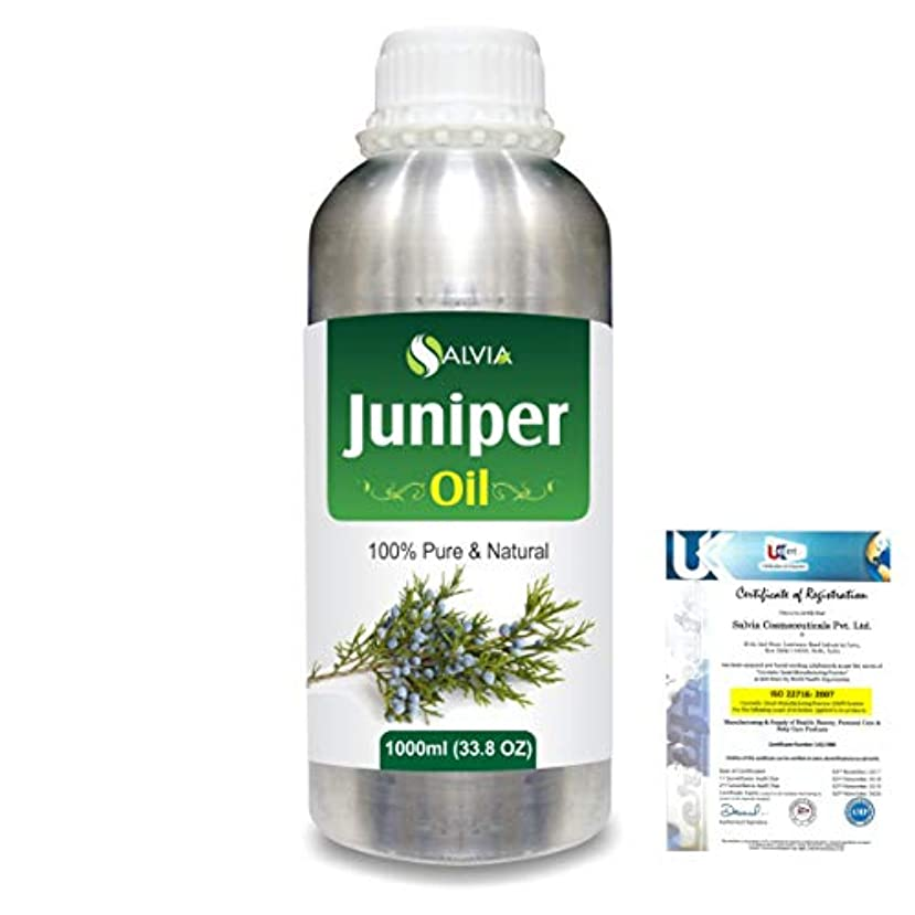 飛び込む戦争ランデブーJuniper (Juniperus communis) 100% Natural Pure Essential Oil 1000ml/33.8fl.oz.