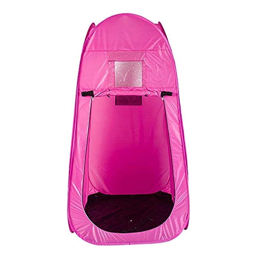ジェーンオースティン路面電車ファンブルポータブル スチームサウナ ルーム ホーム パーソナル スパ Slim身 減量 解毒 サウナテント リモコン 2L 蒸気発生器 機械 (Color : Pink)