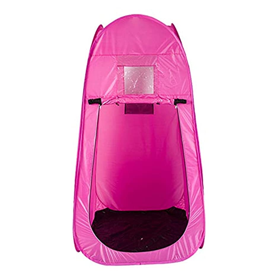 外出代表息苦しいポータブル スチームサウナ ルーム ホーム パーソナル スパ Slim身 減量 解毒 サウナテント リモコン 2L 蒸気発生器 機械 (Color : Pink)