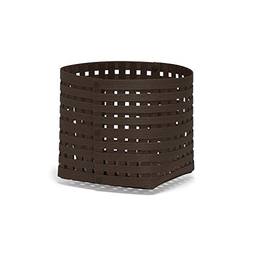 Bandc Basket S3 color 08 ダークブラウン かご 収納...