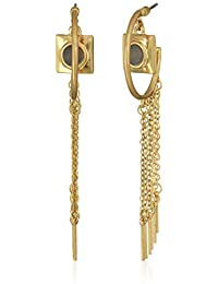 Danielle Nicole Mei L I Drop Earrings