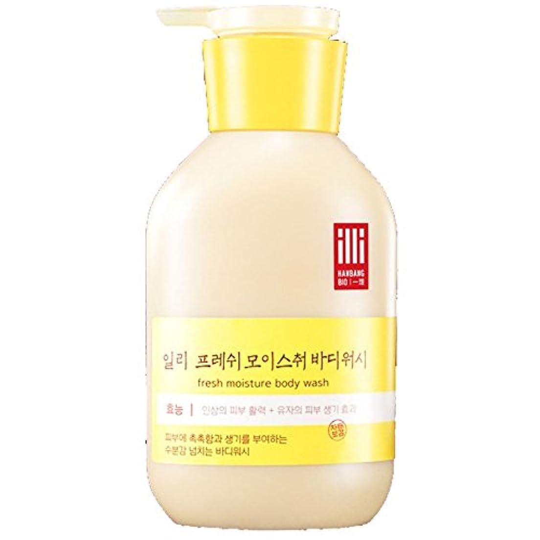 トラフ寓話意見(アモーレパシフィック ) Amore Pacific illi Fresh Moisture Body lotion 新鮮な水分ボディローション 350ml  (海外直送品)