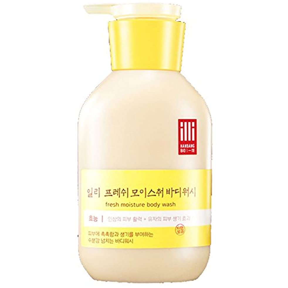 引き受けるしない量で(アモーレパシフィック ) Amore Pacific illi Fresh Moisture Body lotion 新鮮な水分ボディローション 350ml  (海外直送品)