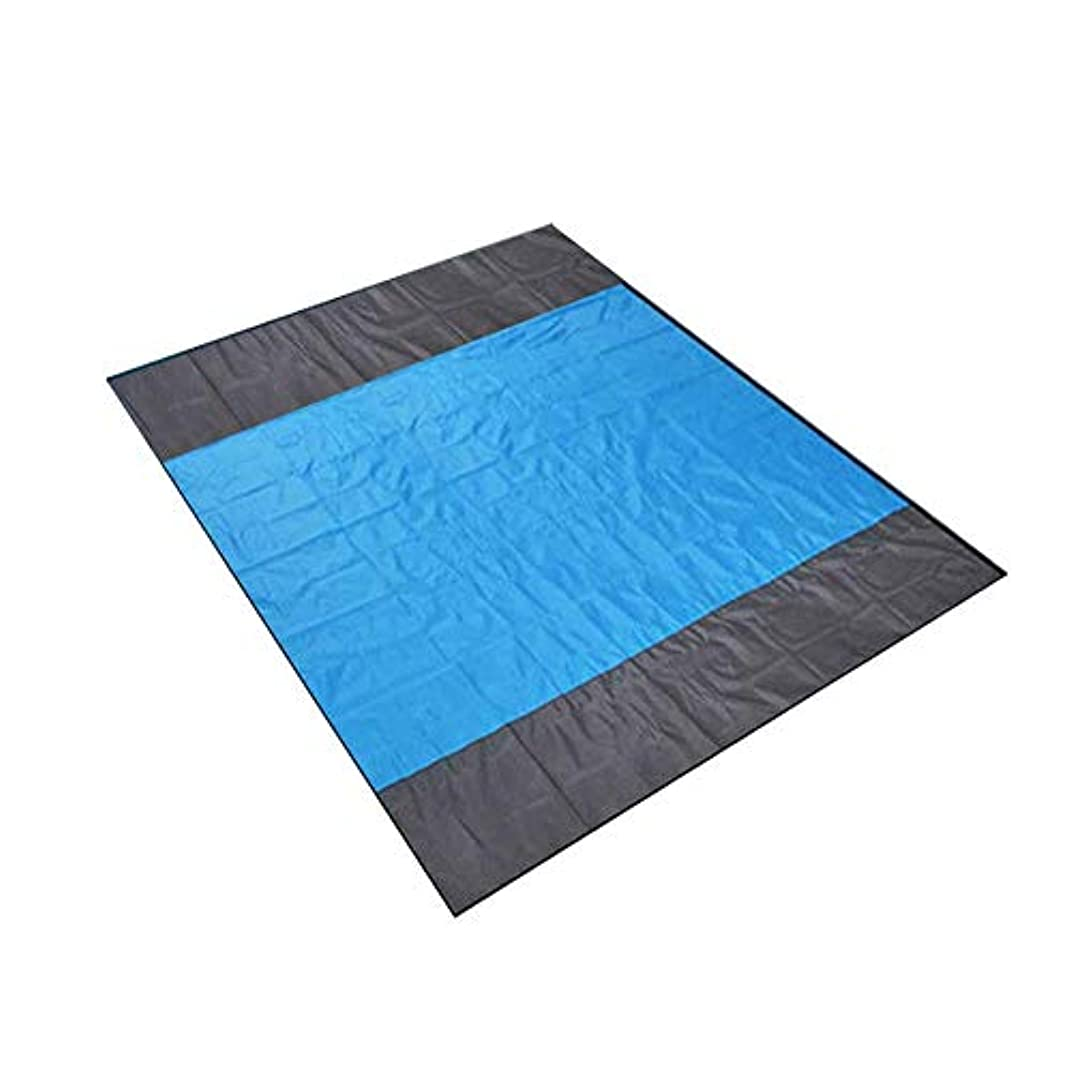 今試みる懲戒Happysource 210×200センチメートル砂浜無料ビーチマット屋外ピクニック毛布敷物マットレスパッド